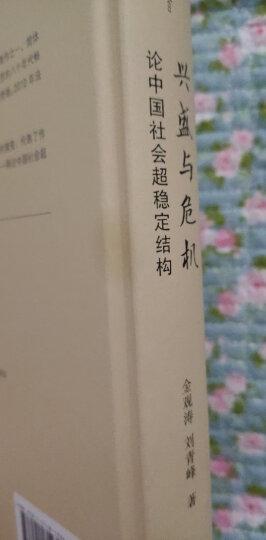 正版2010年版 兴盛与危机 论中国社会超稳定结构 金观涛 法律社 中国历史社会文化宏观结构变迁特点 晒单图