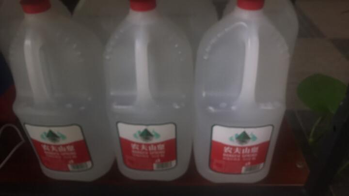 农夫山泉 饮用天然水家庭桶装矿泉水弱碱性 4L*4桶 整箱 晒单图