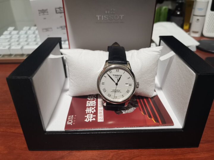 天梭(TISSOT)瑞士手表 力洛克系列皮带机械男士手表T006.407.36.053.00 晒单图