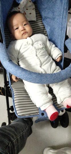 纽贝乐婴儿背带腰凳夏季透气宝宝新生儿背带横抱式儿童多功能小孩抱娃神器 太空灰 均码 晒单图