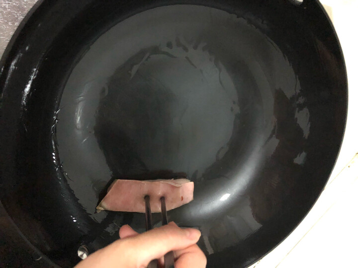 炊大皇炒锅34cm铁锅无涂层烹饪锅具铸铁炒菜锅电磁炉燃气煤气灶明火通用C34D2 晒单图