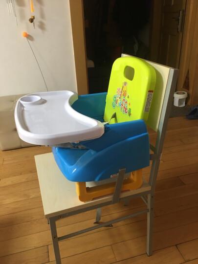gb好孩子 儿童餐椅 便携式多功能可调节增高宝宝餐椅 ZG20-W-L233BG 晒单图