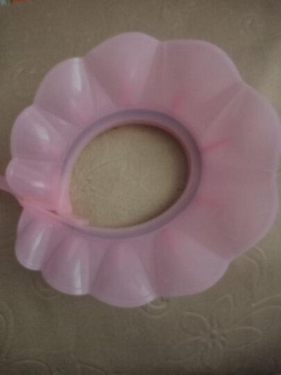 kair 美国宝宝洗头帽可调节婴儿硅胶气垫洗澡帽儿童浴帽小孩洗发帽防水 1代可调节-蓝色 晒单图