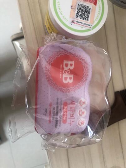 保宁 B&B 婴幼儿洗衣皂 薰衣草味 韩国原装进口 200g*3 晒单图