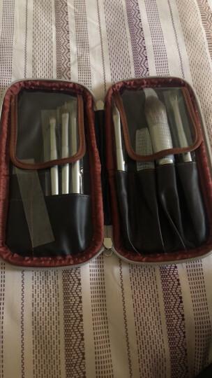 魅丝蔻(MSQ) 8支珍珠白系列化妆套刷 专业化妆工具腮红刷粉底刷眉刷唇刷眼影刷 晒单图