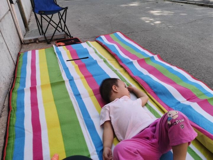 喜马拉雅 铝膜防潮垫 户外加厚野餐垫便携防水沙滩公园草坪垫子帐篷露营地垫野营铝箔垫 200*150cm 晒单图