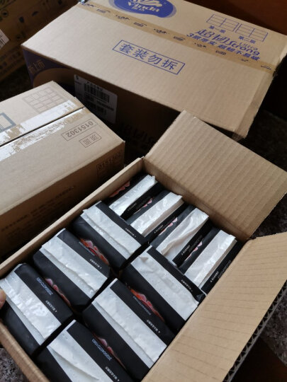 苏菲 Sofy 超熟睡柔棉感夜用组合10包44片(290mm量少夜用5片*4包+420mm量多超长夜用4片*6包)卫生巾套装 晒单图