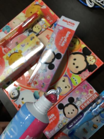 舒客宝贝迪士尼儿童牙膏牙刷套装(鲜橙味60g*2+草莓味60g*2+成长牙刷2支)(新老款随机发货) 晒单图
