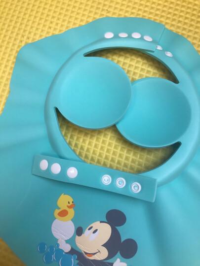 迪士尼宝宝毛毯儿童毯子盖毯婴儿云毯双层加厚礼盒装浅蓝17060 晒单图