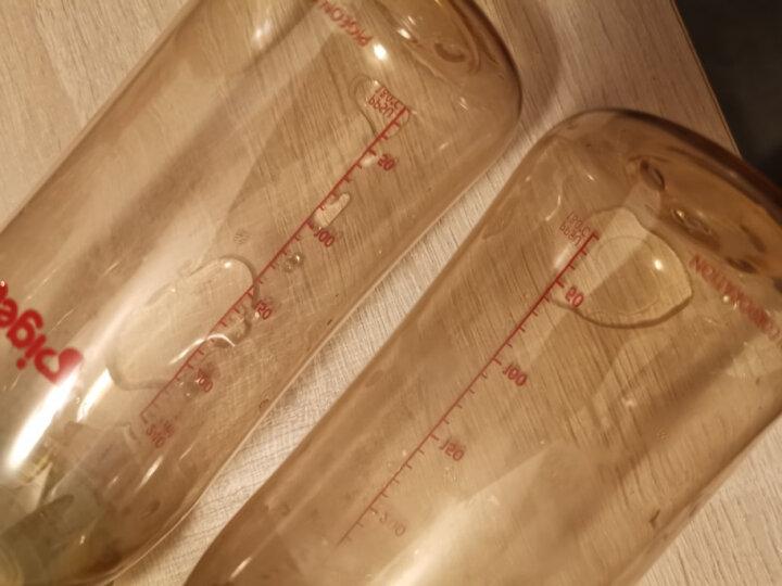 贝亲(Pigeon) 奶瓶 PPSU奶瓶 新生儿 宽口径PPSU奶瓶 婴儿奶瓶 240ml(黄色瓶盖) AA94 自然实感L码奶嘴 晒单图