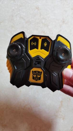 变形金刚(Transformers)玩具6擎天柱大黄蜂可声控感应遥控汽车人变形模型儿童男孩玩具  大黄蜂【手势感应+声控变形】-三电池 晒单图