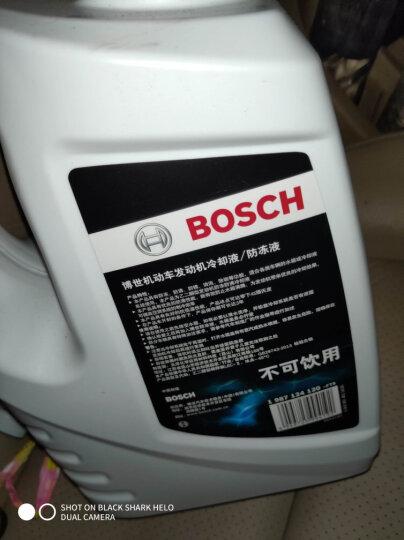 博世(BOSCH)汽车发动机通用水箱防冻液/冷却液/冷却水 冰点-45℃ 4L(红色) 晒单图