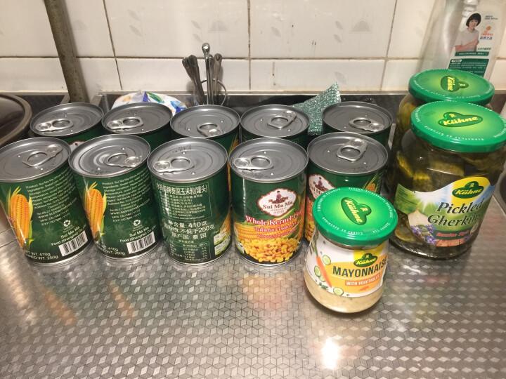 泰国原装水妈妈玉米粒410g进口调味品凉拌色拉沙拉甜玉米烘焙玉米烙甜品食材罐装玉米粒 晒单图