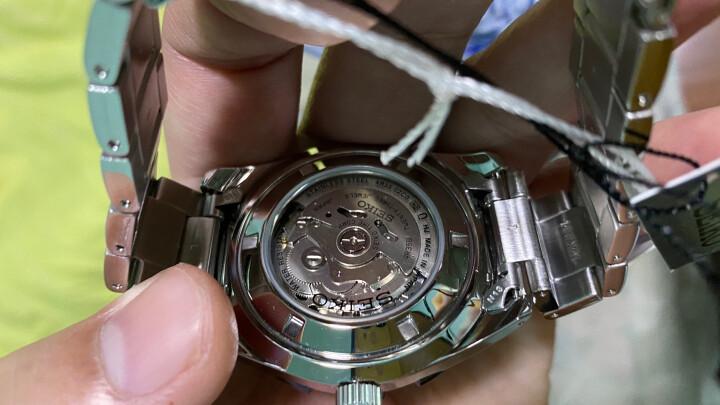 精工(SEIKO)手表 日本原装进口SEIKO5号运动系列自动/手动上链防水夜光水鬼自动机械男表SRP599J1 晒单图