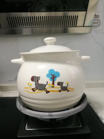 泥火匠 汤煲 陶瓷 小斑马如意汤煲 4600ml 釉中彩耐热砂锅 汤锅炖锅 晒单图
