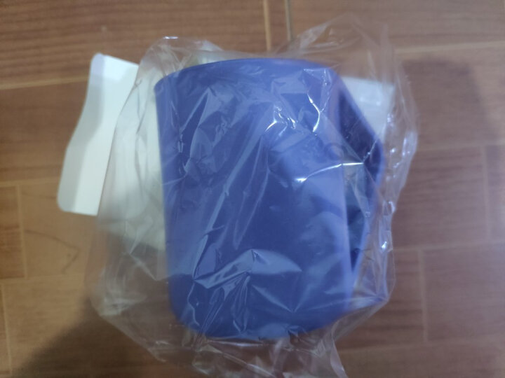 欣沁 旅行创意洗漱杯 小麦牙缸套装刷牙杯 情侣塑料漱口杯子 北欧蓝 晒单图