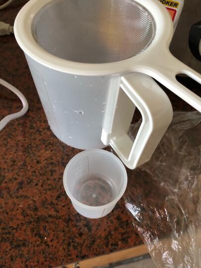 美的(Midea)豆浆机家用全自动破壁 免滤豆浆机生磨 榨汁机 多功能/可做辅食/果蔬汁/早安豆浆 WHP13R81 晒单图