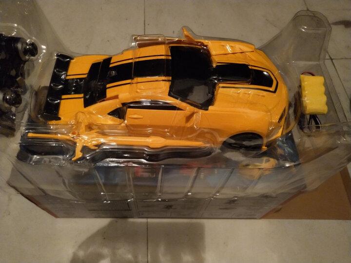 美致模型(MZ)遥控汽车兰博基尼毒药充电礼盒超大36cm感应变形儿童玩具车男孩礼物 灰色 晒单图