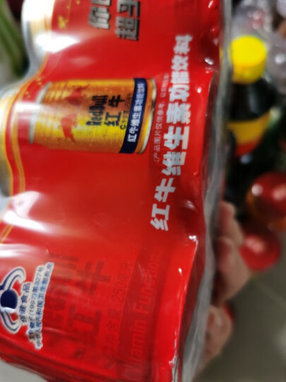 红牛 维生素功能饮料 250ml*6罐 组合装 晒单图