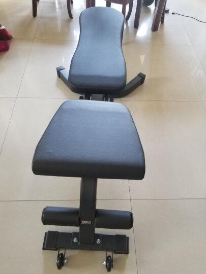 创思维 哑铃凳家用多功能健身椅专业杠铃平凳卧推床仰卧起坐板腹肌运动健身器材CSW9000 黑色 晒单图