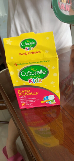 Culturelle 康萃乐 儿童纤维素益生菌粉 24袋/盒 美国进口【1岁以上】 晒单图