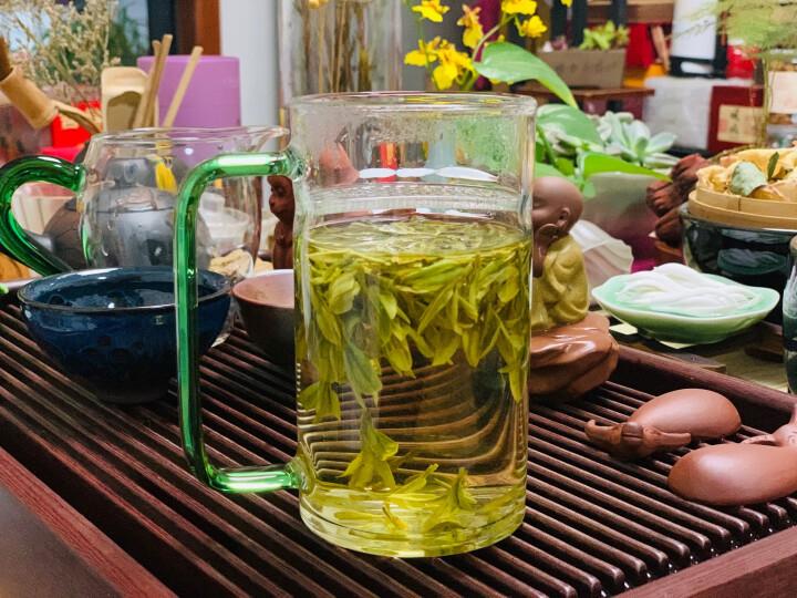 2020新茶上市 线下同款 梅府茗家茶叶 绿茶 西湖龙井狮峰山明前精品包装250g 春茶 头采 晒单图