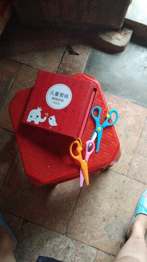 儿童手工折纸剪纸书大全工具套装3-6岁幼儿园宝宝DIY制作折纸材料印花彩纸提高动手能力益智能力 240张礼盒装 晒单图