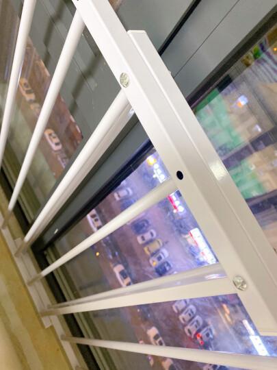 宝贝适(babysafe)儿童窗户护栏防盗网窗栏阳台保护栏安全围栏飘窗防护栏免打孔栏杆 适合宽度87-138cm高度205-290cm 77CM高 晒单图