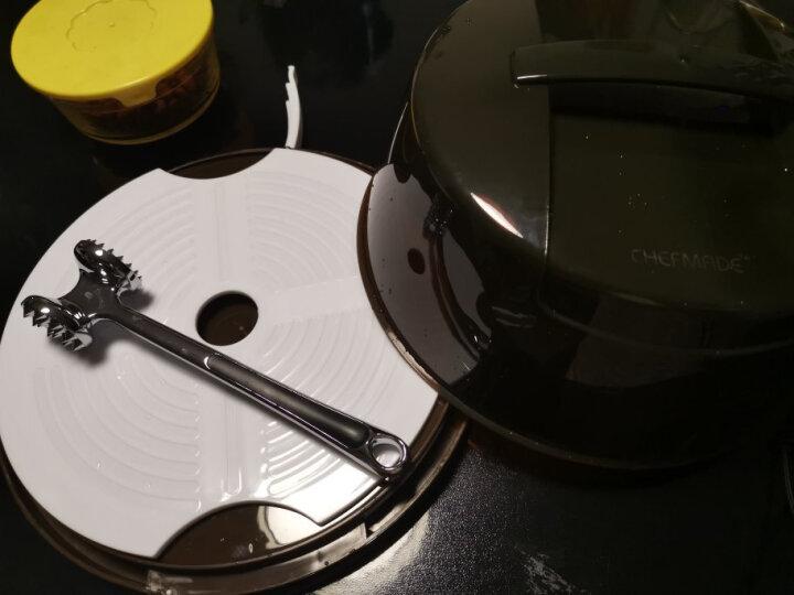 学厨 CHEFMADE 烘焙工具 蛋糕盒6-8寸圆形重复家用手提透明包装保鲜点心盒子WK9204 晒单图