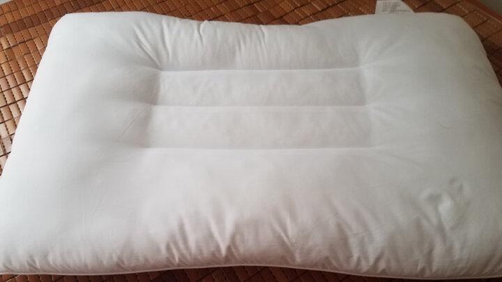 富安娜家纺 枕头芯颈椎枕决明子草本枕芯 成人枕头套装 决明子健康舒睡枕芯一对装 74*48cm 白色 晒单图