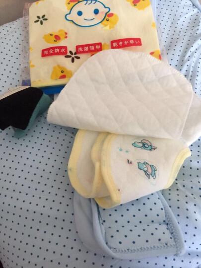 比多乐 纯棉婴儿抱被春夏秋冬四季可用 可脱胆冬款加大加厚宝宝包被睡袋两用 蓝色(可脱胆) 晒单图