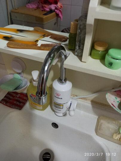 热恋(LoveLink)电热水龙头 过水热快加热速热厨房宝 家用冷热两用小厨宝 即热式电热水器下进水大弯DF01 晒单图