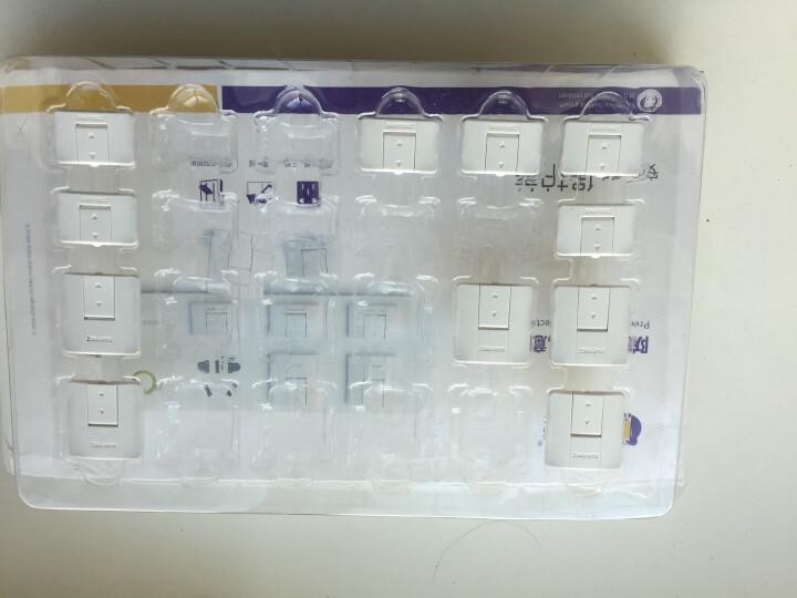 棒棒猪(BabyBBZ) 安全插座保护盖 防触电插座护盖儿童安全插孔防护盖插头塞24个装 晒单图