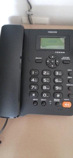 盈信(YINGXIN)盈信Ⅲ型电信版 无线插卡座机 固定插卡电话机 电信版手机SIM卡 低辐射(黑色) 晒单图
