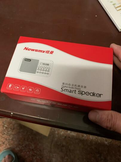 纽曼(Newsmy)L56 收音机 老年人老人充电式插卡迷你小音响便携式mp3随身听校园广播 电脑音箱 红色 晒单图
