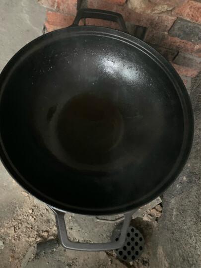 炊大皇铁锅36cm炒锅中式双耳加厚铸铁锅电磁炉通用C36ATQ2 晒单图