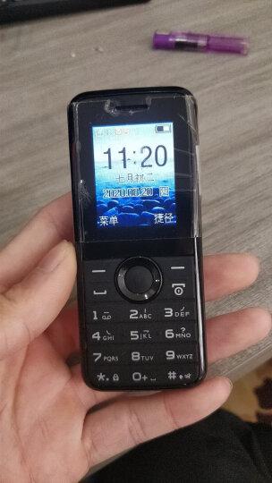 飞利浦(PHILIPS) E105 海洋蓝 环保材质 超强震动 直板按键 移动联通2G 双卡双待 老人手机 学生备用功能机 晒单图