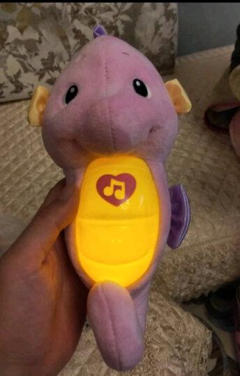 费雪(Fisher Price)益智玩具声光安抚海马DGH83-粉色 晒单图