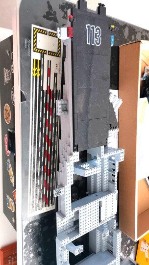 启蒙(ENLIGHTEN)拼装积木军事航母军舰男孩生日礼物立体拼插塑料玩具113航空母舰 晒单图