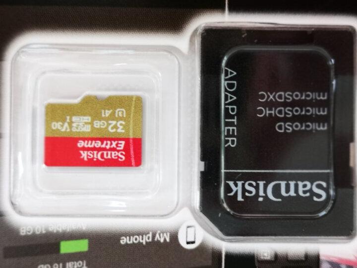 闪迪(SanDisk)128GB SD存储卡 U3 C10 4K 至尊超极速版数码相机内存卡 读速300MB/s  写速260MB/s 支持4K 晒单图