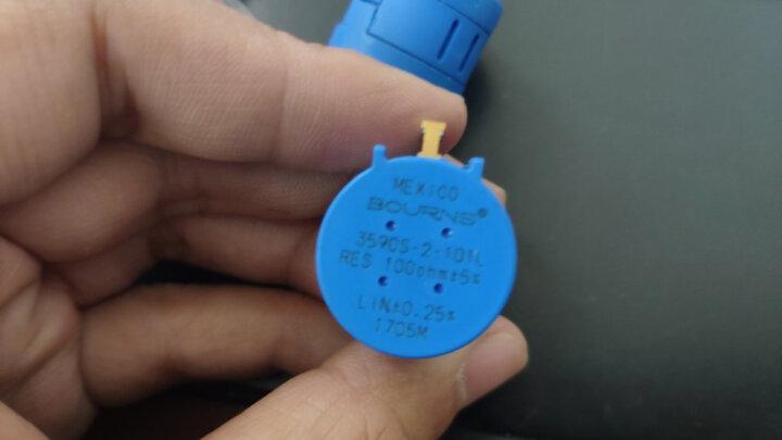 高科美芯 蓝色多圈电位器 3590S-2-202L 2K 精度5% 一个 晒单图