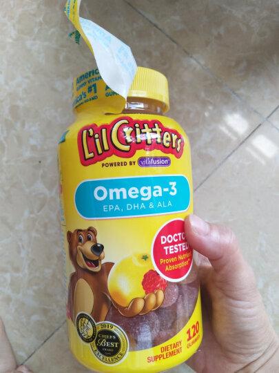 小熊糖 L'ilCritters丽贵 儿童营养果蔬膳食纤维软糖 90粒装 美国进口 2岁及以上 晒单图