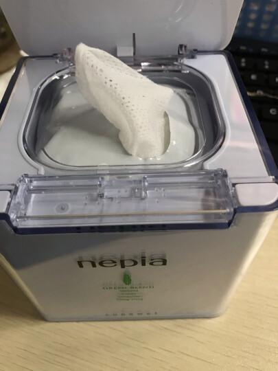 妮飘(nepia) 方沁湿巾 超透明感水润魔力方盒 32抽/盒 晒单图