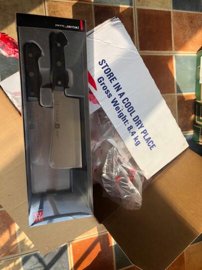 双立人(ZWILLING)Style系列 刀具套装 菜刀单刀+砍骨刀 2件套装 德国进口 晒单图