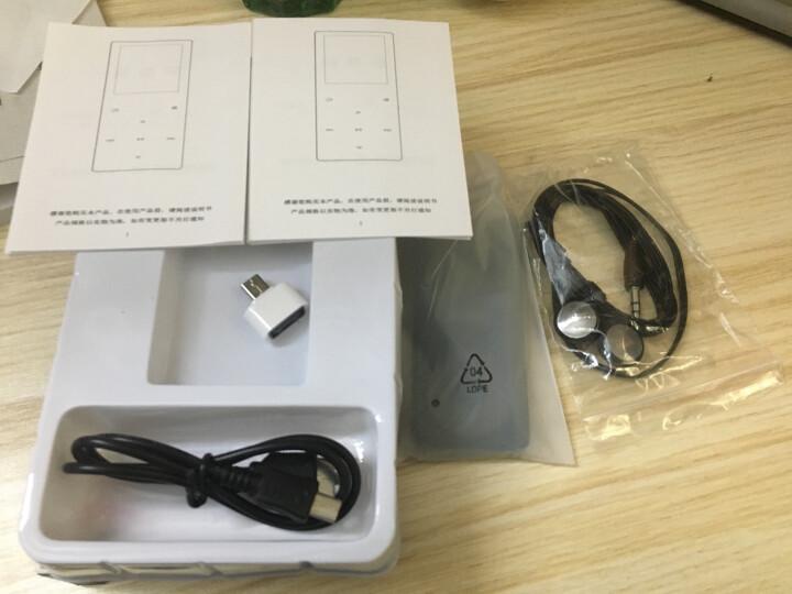 锐族(RUIZU)X02  16G 军绿色 运动MP3/MP4音乐播放器迷你学生随身听便携式电子书英语听力插卡 晒单图