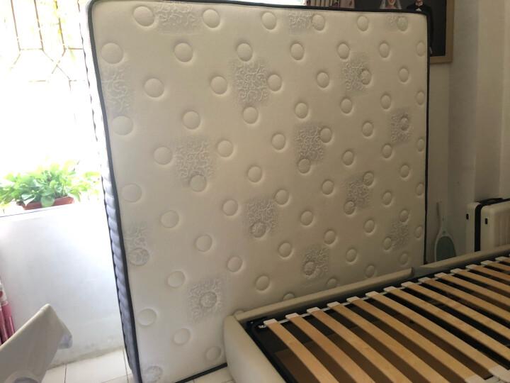 金海马(kinhom)乳胶床垫床褥 双人 软硬适中 席梦思弹簧床垫1.8米X2米X0.22米 WL001A 晒单图