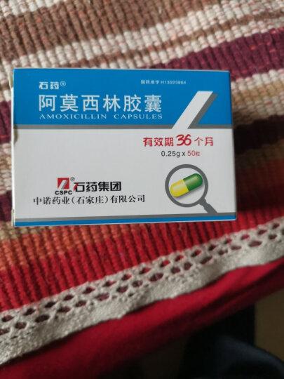 石药 阿莫西林胶囊 0.25g*50粒/盒 晒单图