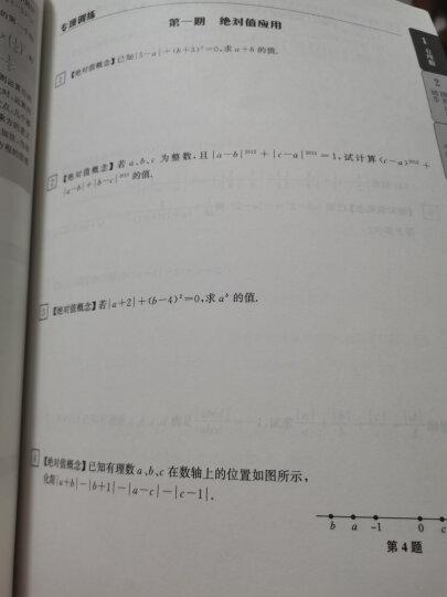 赢在思维:初中数学拉分题解题思想与方法(几何集训篇) 晒单图