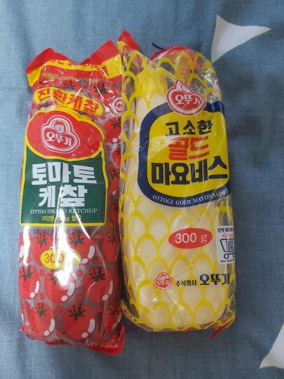 韩国不倒翁蛋黄酱/沙拉酱/色拉酱3.2KG  韩式炸鸡比萨薯条蘸酱 原味沙拉酱300g 晒单图