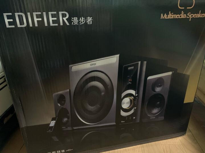漫步者(EDIFIER) C3 2.1声道+独立功放 多媒体音箱 音响 电脑音箱 黑色 晒单图